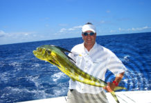 Paul Petani with a Mahi Mahi