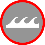Wave-badge