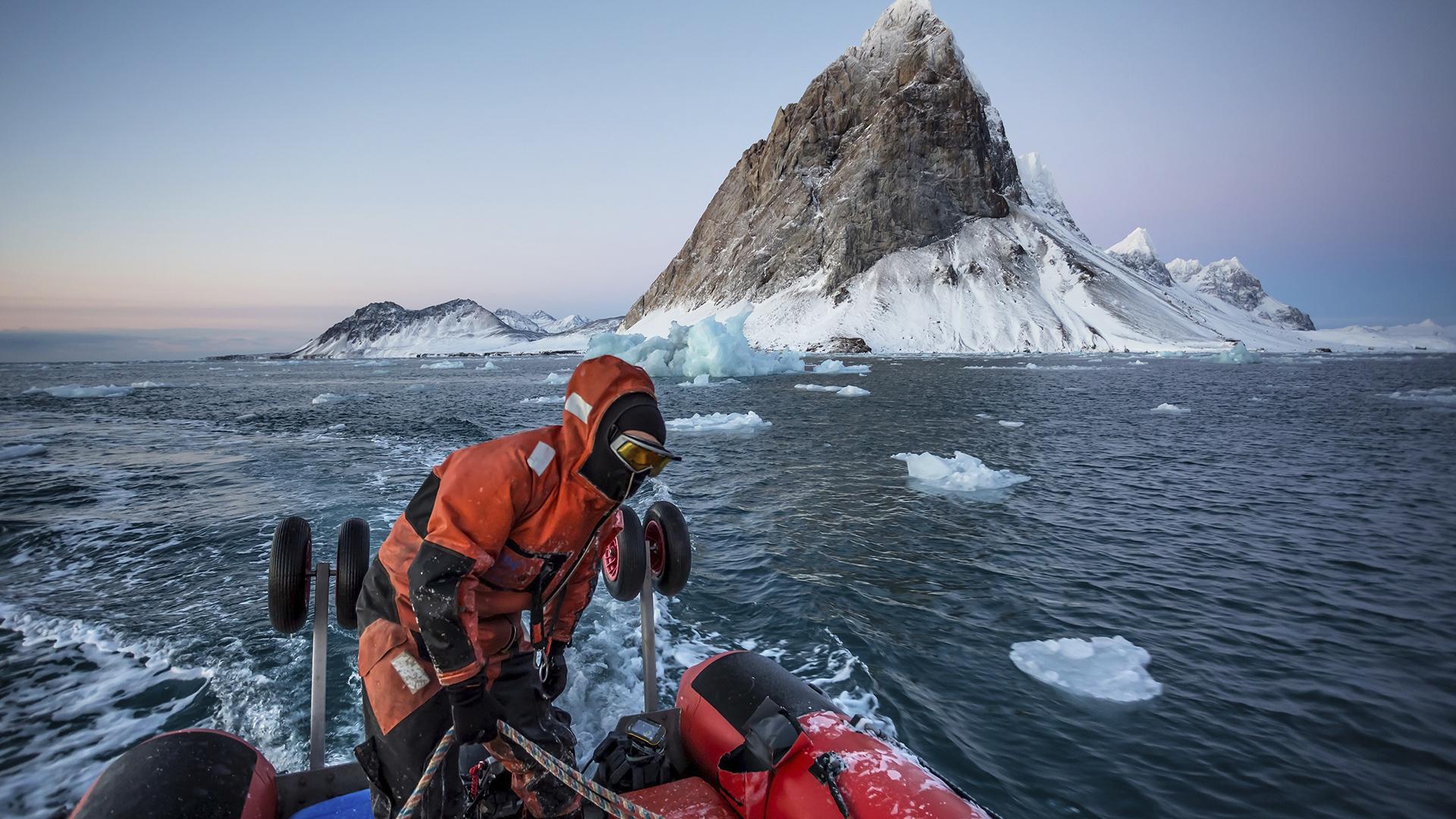 Boat Svalbard